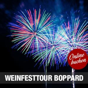 05.10.2019 – Weinfesttour nach Boppard zum Feuerwerk