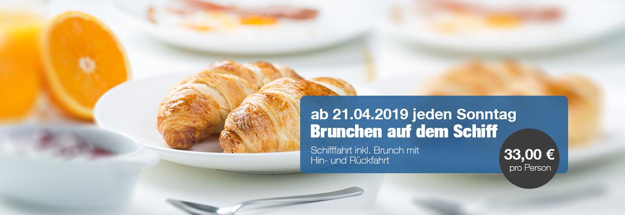 Brunch Bonn Schiff