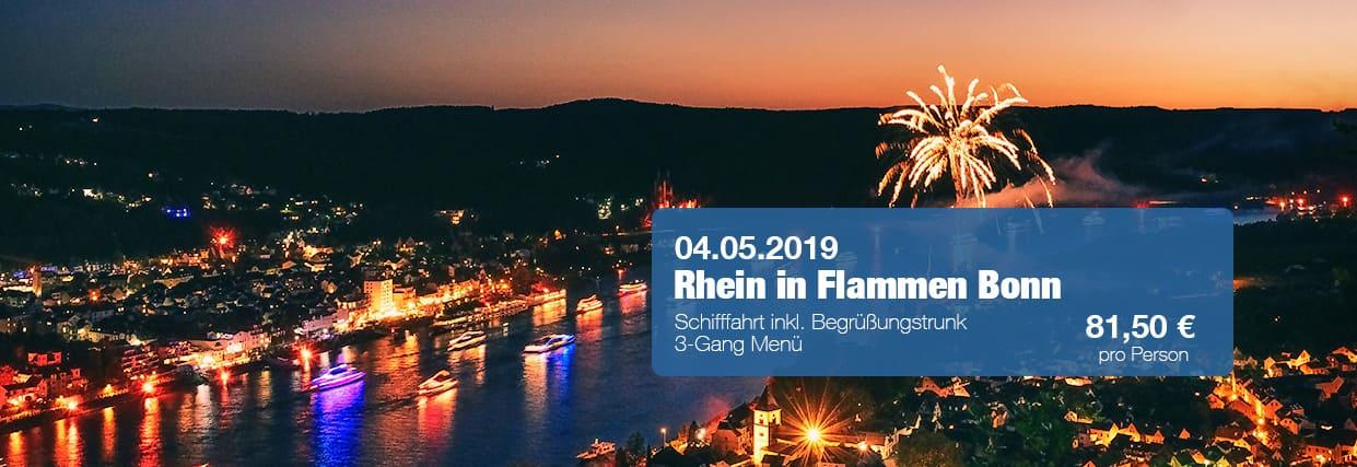 Rhein in Flammen Bonn Schiff Tickets