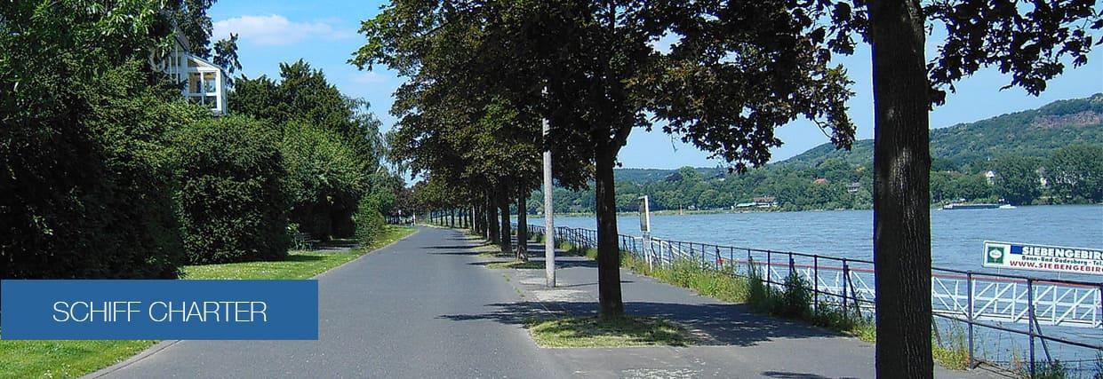 Rhein Schiff chartern mieten Bonn Köln Koblenz