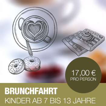 Brunch Sonntags Schiff Rhein Bonn