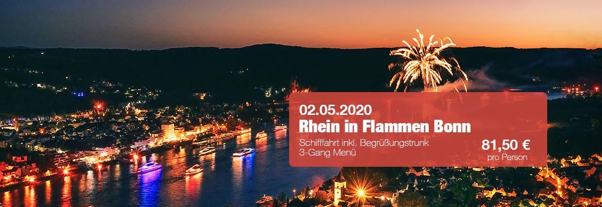 Rhein in Flammen Bonn Schiff